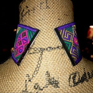 Jewelry - Bright Boho Geometric Choker